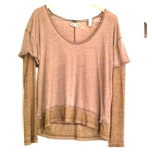 Double Layer Tee from Free People